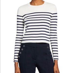 Banana Republic Cashmere Striped Sweater
